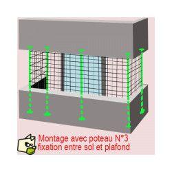 Filet De Protection Et De Securite Pour Chat Et Petit Chien Evite Au Chat De Tomber Du Balcon En 2020 Petit Chien Filet Protection Chat
