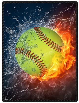 InterestPrint Softball Ball in Fire and Water Sports Canvas Prints Wall Art Decor Wood Framed Artwork Paintings for Bedroom Home Office Decor x -- Learn more by visiting the image link. (This is an affiliate link) Softball Crafts, Softball Bows, Softball Shirts, Girls Softball, Fastpitch Softball, Softball Quotes, Softball Stuff, Baseball Mom, Softball Cheers