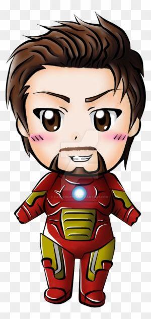 Chibi Tony Stark Aka Iron Man Cute Chibi Spiderman Cartoon Chibi Captain America Wallpaper Cute iron man animated wallpaper