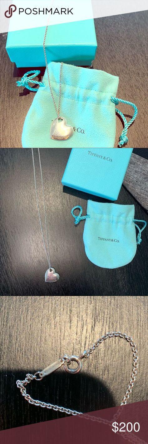 Tiffany & Co. Herzanhänger Halskette Sterling Silber Tiffany & Co. Herzanhänger ...   - My Posh Picks - #amp #Halskette #Herzanhänger #Picks #Posh #Silber #Sterling #Tiffany