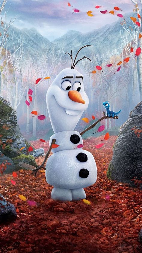 olaf in frozen 2 2019 iPhone 11 Wallpapers