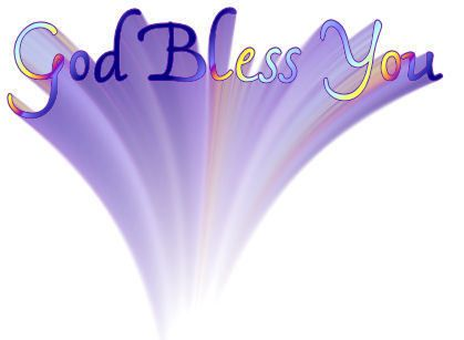God Bless You God Bless You God Bless Blessed