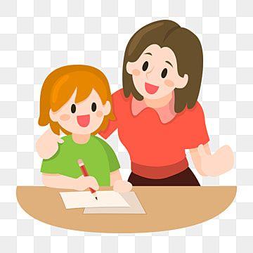 Gambar Hari Ibu Ibu Dan Anak Perempuan Ibu Dan Anak Kartun Ilustrasi Kartun Ibu Dan Anak Kartun Png Ibu Png Dan Psd Untuk Muat Turun Percuma Children Illustration Mother And Child