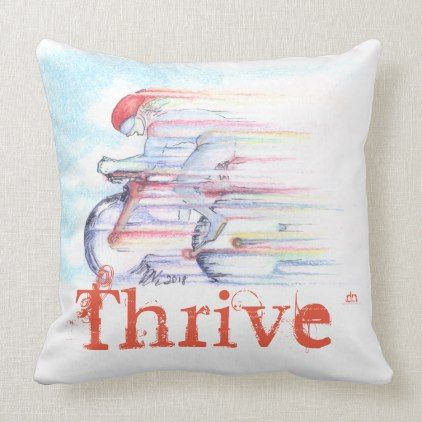 Optimal Performance Throw Pillow Thrive Dorm Decor College Diy Cyo Personalize Room Unique Idea With Images Yoga Pillows Personalized Room Throw Pillows