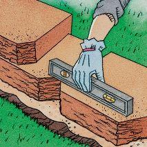 Installing Retaining Wall