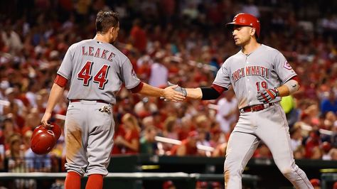 Major League Baseball Player And Free Agent Skip Schumaker And His