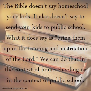 why school is better than homeschooling
