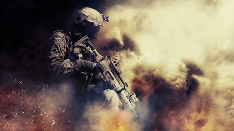 Video Game Medal Of Honor Warfighter Medalha De Honra Soldier