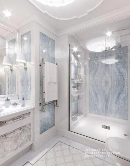 All Things Bathroom Including The Bath Sink Tile Design Wallpaper Paint How To Squeeze A Bathroom Su In 2020 Luxury Toilet Bathroom Design Luxury Bathroom Layout
