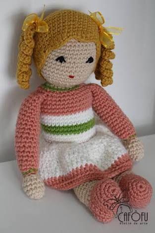 Boneca Ariele em Amigurumi - YouTube | 470x313