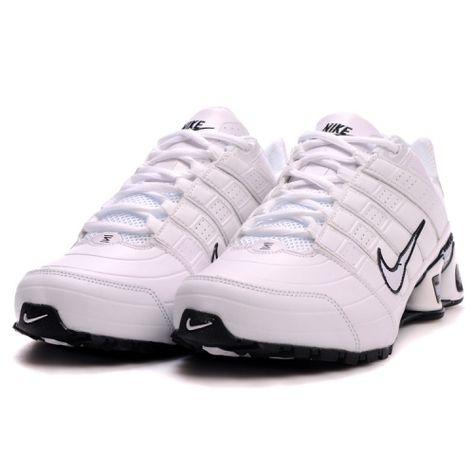 Nike Shox NZ 2 White Black Couple Shoes
