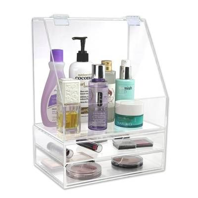 Plastic Makeup Organizer Makeup Organization Acrylic Organizer Makeup Makeup Storage