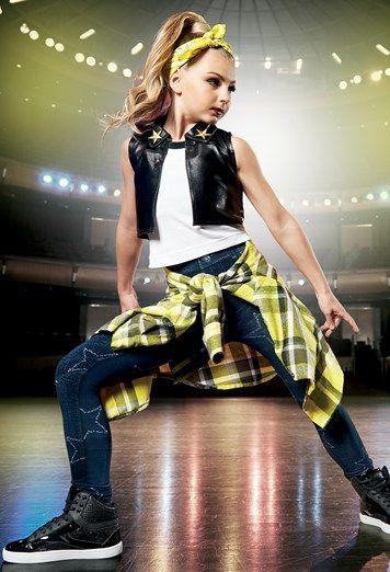 Dot Vest With Star Jeggings Weissman Hip Hop Dance Outfits Hip Hop Outfits Dance Costumes Hip Hop