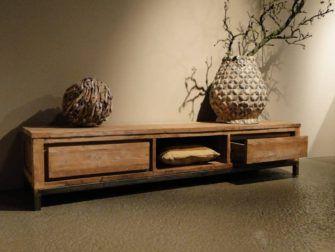 Teak Tv Kast.Avezzano Tv Meubel In 2020 Rustic Home Design Home Furniture