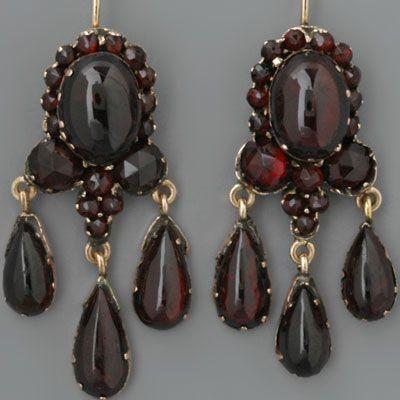 445 Best Vintage Antique Garnet Jewelry