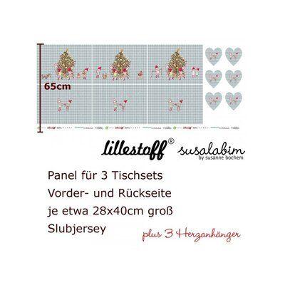 Weihnachtsstoff Bio Jersey Lillestoff Tischset Wichtelweihnacht 11 00 Weihnachtsstoff Tischset Weihnachtlich Motive
