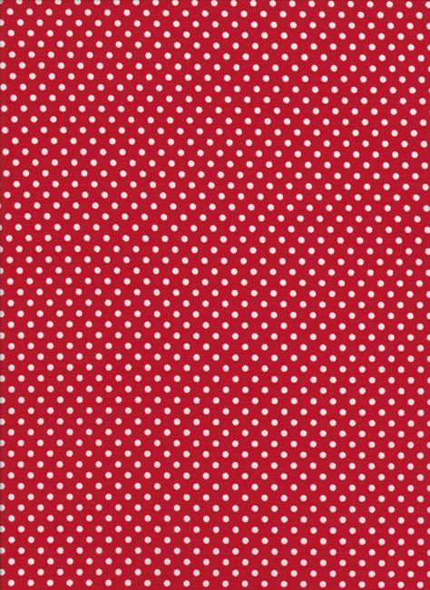 4505 Lecien rouge à pois par DonnasLavenderNest sur Etsy, $2.50