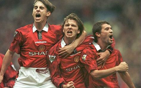 David Beckham Career In Pictures Manchester United Football