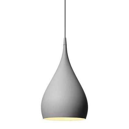 Spinning Pendel Bh1 Mork Matt Gra Tradition Taklampe Lamper Design