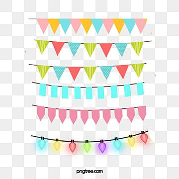 Colorful Birthday Party Decorations Triangular Hanging Flag Cartoon Celebrating Png Transparent Clipart Image And Psd File For Free Download In 2020 Colorful Birthday Party Decorations Colorful Birthday Party Birthday Party Decorations