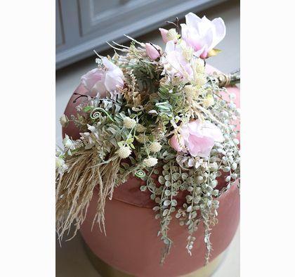 Adelita Grey Efektowny Bukiet Do Wazonu Wys 68cm Flower Arrangements Flowers Grey