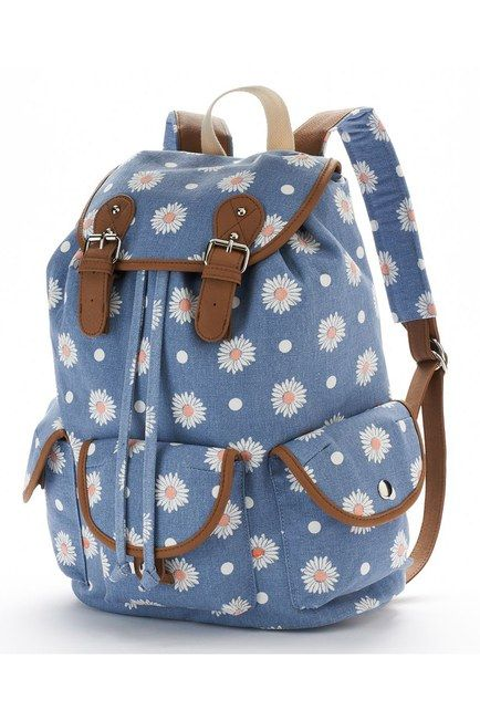 Cute college wind stray birds travel backpack from Cute Kawaii {harajuku  fashion   282b421681bf3