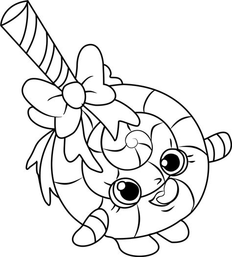 Lollipop Coloring Pages In 2020 Shopkins Colouring Pages Shopkin Coloring Pages Coloring Pages