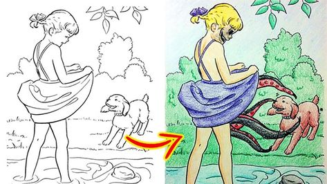 Children Coloring Books Ruined By Adults Coloring Books