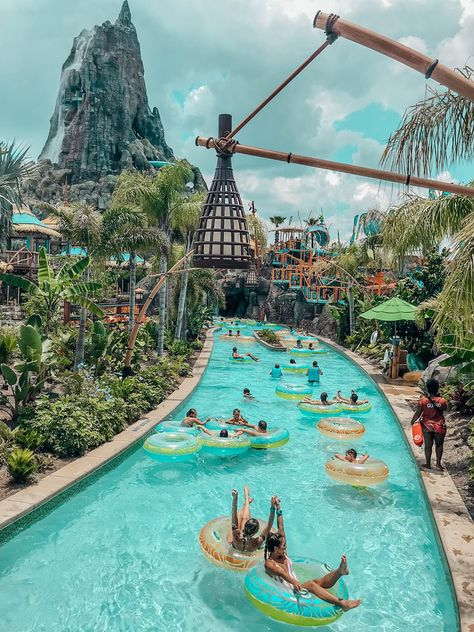 A Thrilling Escape to Paradise at Universal's Volcano Bay Every year, we look forward to visiting Universal Studio's theme parks in Orlando, Florida! The latest attraction at Universal Studios is Volcano Bay, a new water theme park that opened in la… Vacation Places, Dream Vacations, Romantic Vacations, Italy Vacation, Romantic Travel, Vacation Destinations, Dream Vacation Spots, Holiday Destinations, Beautiful Places To Travel