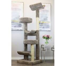 Haviland Climbing Tower Cat Condo Arranhador Para Gatos Condominio De Gato Arranhador