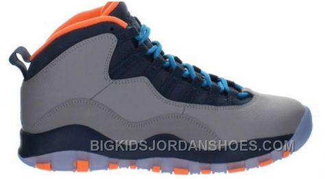 new product 7effa 57001 310805-026 Air Jordan 10 Retro Wolf Grey Dark Powder Blue-New Slate-Atomic  Orange 2016 in 2019   Air Jordan 10 Adult   Air jordans, Jordan 10, ...