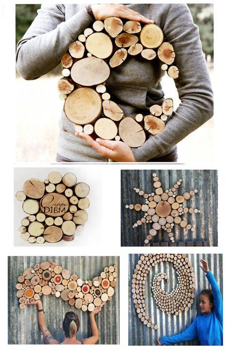 Aufgearbeiteten Holz Mond Skulptur Hochzeit von WildSliceDesigns