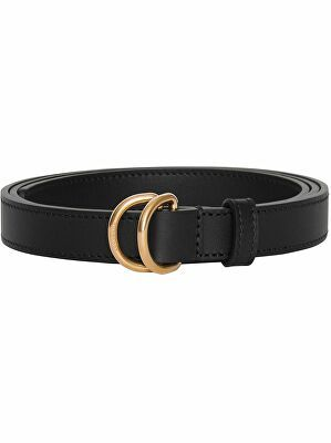 Burberry Slim Leather Double D Ring Belt Belt D Ring Belt Leather