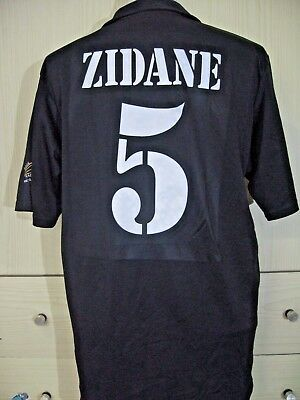 competitive price 20024 24211 Details about ZIDANE REAL MADRID SPAIN 2001 CENTANARY ADIDAS ...