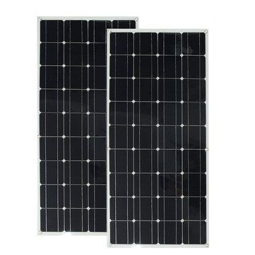 2pcs Elfeland 12v 120w Monocrystalline Semi Flexible Solar Panel With 1 5m Cable For Car Rv Boat