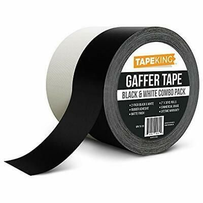 Sponsored Ebay Gaffers Tape 2 Pack Premium Professional Grade Inch X 30 Yards Each Black Gaffer Tape Tape Gaffers
