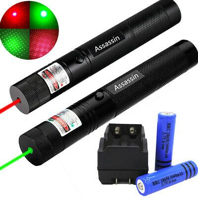 Details About 2pcs 600 Miles Red Green Laser Pointer Pen Star Lazer 18650 Charger Ultra Bright In 2020 Green Laser Pointer Green Laser Laser Pointer