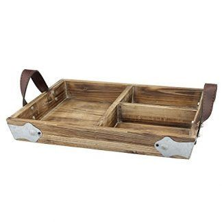 Farmhouse Trays Discover The Best Farm Home Style Serving Trays For Your Country Home Rustic Serving Trays Are Beautiful And Perfe Wood Tray Tray Decor Leather Tray