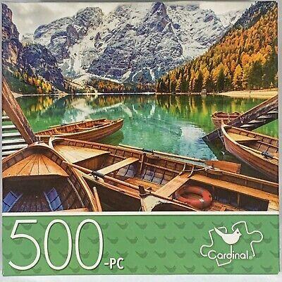 Puzzlebug Mountain Lake 500pc puzzle