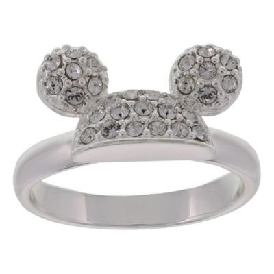 Check Out The Mickey Pave Ear Hat Ring Walt Disney World Resort