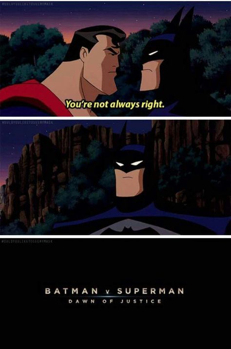 Batman VS Superman funny