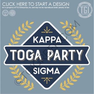 Kappa Sigma Toga Party Greek Date Party Greek Mixer Tgi