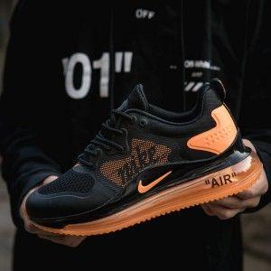 air max 720 black and orange