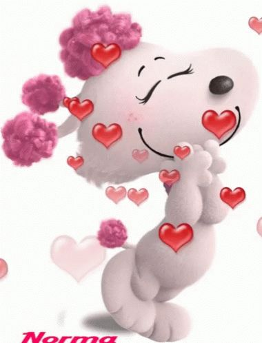 Snoopy Love GIF - Snoopy Love - Discover & Share GIFs