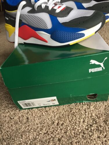 Pre-own PUMA RS-X Toys Sneakers Shoes- White/Royal/Red ...