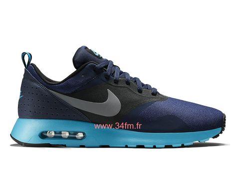 quality special sales fashion Nike Air Max Tavas Chaussures Noir/Bleu Sur internet Pour Homme ...