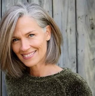 Woman Over 50 60 Executive Hairstyle Ideas Grey Bob Hairstyles What Causes Gray Hair Cool Hairstyles
