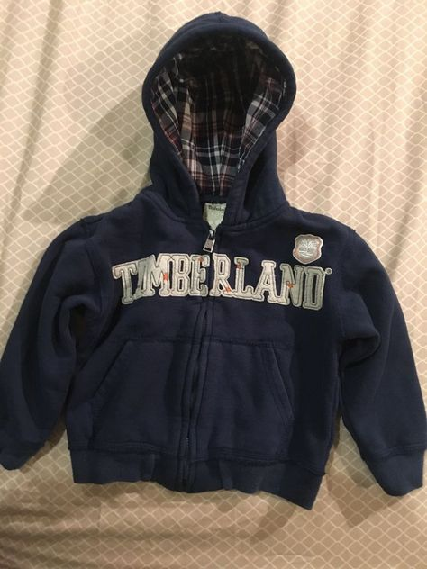 Timberland Toddler Boys Blue Sweater Size 3 #Timberland #Hoodie