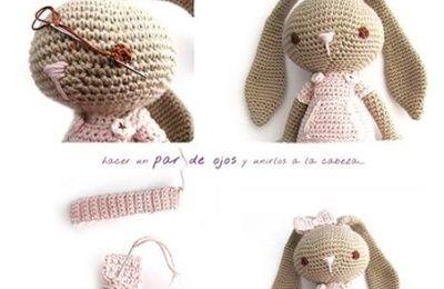 Tutoriel Lapin de printemps 🌸🐰 - Cat's Créa Crochet | Tutoriel poupée au  crochet, Lapin en crochet, Poupées en crochet | 260x400