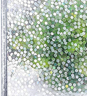 Amazon Com Homein Window Film Privacy 3d Clear Circle Decorative